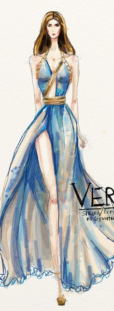 ~Versace Sketch | House of Beccaria#