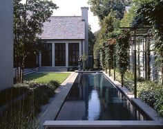 contemporary coutyard pool by mcalpine tankersley