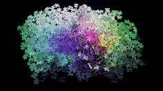 Voici le5000 Colors Puzzle imaginé par le designer Clemens Habicht, un puzzle géant dont chacune des5000 pièces possède une couleur différente. Les des