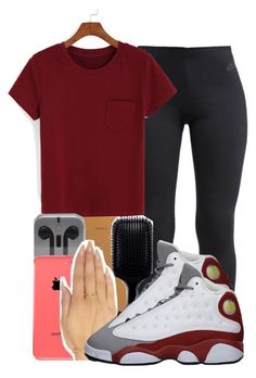 """."" by ray-royals ❤ liked on Polyvore featuring NIKE and Retrò"