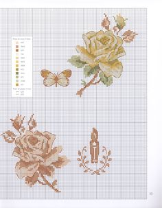 Cross Stitch Books, Cross Stitch Love, Cross Stitch Flowers, Cross Stitch Designs, Cross Stitch Patterns, Embroidery Stitches Tutorial, Embroidery Patterns, Cross Stitching, Cross Stitch Embroidery