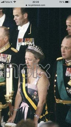 Princess Ragnhild with Queen Maud diamond tiara, collett necklace from Maud, and brooch from Maud. Diamond Tiara, Royals, Captain Hat, Punk, Brooch, Queen, Princess, Style, Fashion