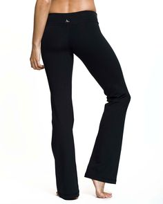 Are you a dedicated yogini? A disciple of Pilates? These are your pants. The Rocker Pant - $88.00