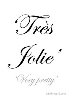 ♔ 'Very pretty' French Love Phrases, Common French Phrases, French Love Quotes, Italian Phrases, How To Speak French, Learn French, Pretty French Words, French Sayings, Insta Bio