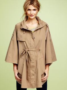 love this cape coat....i will have you!