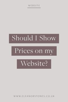 Why you should display your prices on your small business website. | Pricing, Web Design, Website Design, Website Design Inspiration, Website Layout, Website Inspiration, Web Layout, Website for Business, Website Ideas, Creative Web Design, Web Design Portfolio, Modern Web Design, Responsive Web Design, Wordpress, Squarespace #WebDesign #WebsiteDesign #Business #Branding