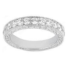 art deco diamond wedding band - Google Search