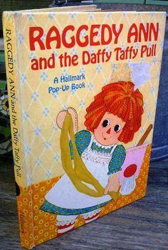 Vintage Raggedy Ann Pop Up Book 1972 by A.C. Junk 'n' Stuff on Etsy, $6.99
