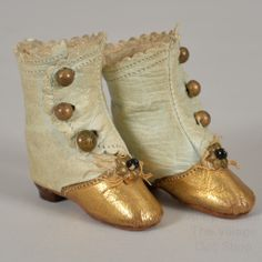 French fashion doll boots