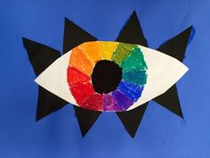 Kim & Karen: 2 Soul Sisters (Art Education Blog): You have an EYE for the Color Wheel - Maclay Middle School Art