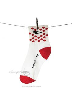 4cd49ebd8 DeFeet Aireator Polka Dot Jersey Socks Cycling Shoes