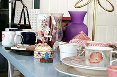 All-in-One Garage Sale & Organization  Whip your garage into shape while selling items you'd nearly forgotten.