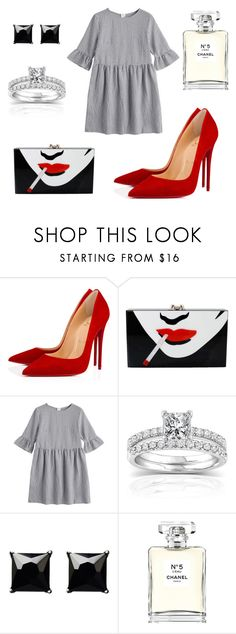 """""""wild hearts can't be broken"""" by mar-01 on Polyvore featuring moda, Christian Louboutin, Charlotte Olympia, Annello, Witchery y Chanel"""