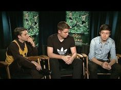 The Kings of Summer: Nick Robinson, Moises Arias and Gabriel Basso Junket Interview 4 --  -- http://wtch.it/acDk5