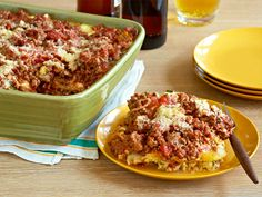 Lasagna from Ree Drummond, The Pioneer Woman (This is very similar to my own lasagna, but has fresh basil and parsley. -Marcia Wright Black)
