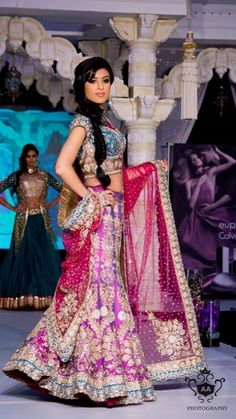 Gorgeous Lengha by CTC West.