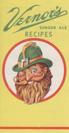 """Vernor's Ginger Ale Recipes"" | 1954 [full cookbook/brochure]"