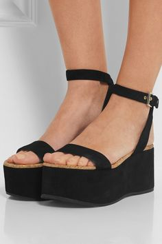 ba96040eb52 Flatforms by Sam Edelman Strappy Sandals Heels