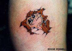 Taz tattoo for mom