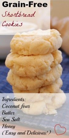 Beautiful and Buttery Grain-Free Shortbread Cookies | Health, Home, & Happiness