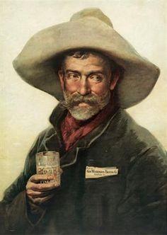 Geo Wiedemann Brewing Company ~ Vintage Beer Poster