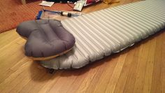 Thermarest NeoAir mattress for portable sleeping on floors, or outdoor adventures!