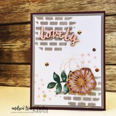 Stampin' Up! Oh So Eclectic, embossing paste