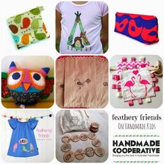 Handmade Cooperative: Guest Editor: Feathery Friends on Handmade Kids