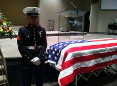 Pin-Ups For Vets 23 hrs ·     WHAT LOVE LOOKS LIKE....Marine Justin Bridges took the last watch over his wife and fellow Marine's casket. They met as recruits and married not long after. She gave birth to a healthy baby girl before losing her battle with bone cancer at 20 years old. Read more about Kailee Bridges here: http://wyrk.com/kaillee-bridges-this-weeks-hometown-hero/ KAILEE, REST IN PEACE AND THANK YOU FOR SERVING OUR COUNTRY. WE HOPE THAT JUSTIN AND HIS BABY DAUGHTER WILL FIND…