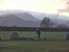 You can have a run just about anywhere! This is Castlerigg Stone Circle in Cumbria