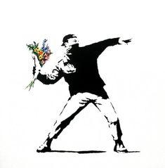 Граффити Бэнкси.