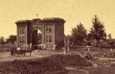 Gateway of Cemetery. Gettysburg, Pennsylvania. July 1863