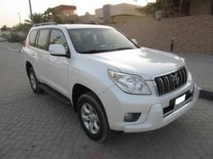 Toyota Prado TXL V6 2012White color Like Brand New - AED 94,000