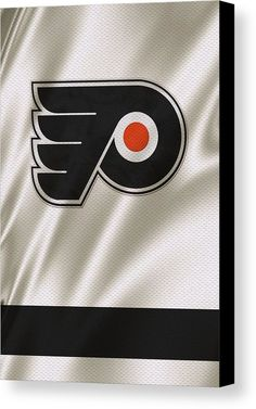 Flyers Canvas Print featuring the photograph Philadelphia Flyers by Joe Hamilton