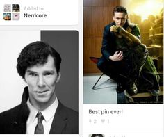 Two awesome Character vs. Actor blends. #Sherloki'd