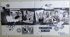 Scrapbook Designs, Scrapbook Sketches, Scrapbooking Layouts, Sketch 2, Stargazer, Page Layout, Scrapbooks, Paper Art, Projects To Try