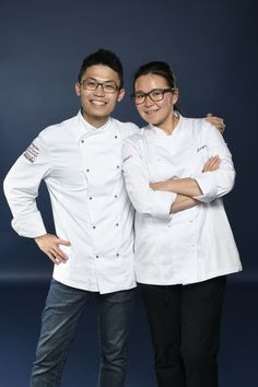 Chanwai Poon and his Mentor Jacqueline Qiu representing China. Photo credit: Gianni Rizzotti.