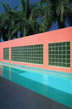 Hit the Beach: Interior Inspiration from Miami, circa 1975 by DLB - Hit the Beach: Interior Inspiration from Miami, circa 1975 by DLB pop art beach holiday colour miami vice aesthetic Miami Architecture, Architecture Design, Creative Architecture, Vintage Architecture, Panorama Instagram, Blender 3d, South Beach, Miami Beach, Miami Pool