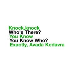 Harry Potter joke(: Credi to ϟ♥accio{piɴk}repubℓic♥ϟ please(: ❤ liked on Polyvore