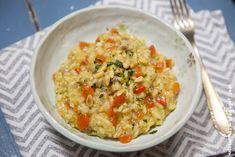 Risotto mit Paprika und Aprikosen [vegan]   Wos zum Essn Blog