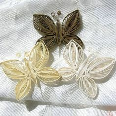 Paper Quilled Butterflys