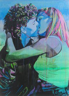 Le Baiser, 1 by Siân Hislop