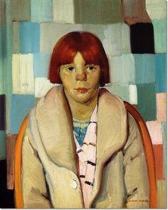 Victor Higgins (1884-1949) - Girl with Sunburned Nose