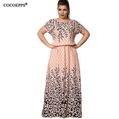 Chiffon Print Maxi Dress. Plus Size Maxi DressesLarge Size DressesLong ... 3919d2f2ac2c