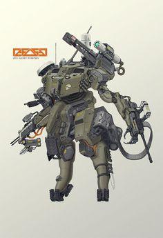 ASSAULT MECH by ~HYDROGEARS on deviantART http://hydrogears.deviantart.com/art/ASSAULT-MECH-396221387 ★ ||