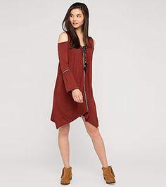Kleid in der Farbe orange-rot bei C&A