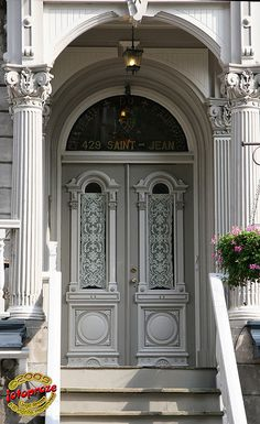Quebec, Canada~photo Doors - St-Jean near Sutherland - Québec City C20090718 033 by fotoproze, via Flickr