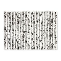 Music notes 5'x7'Area Rug- I want this for our music themed nursery! It would be perfect for baby Lyric.