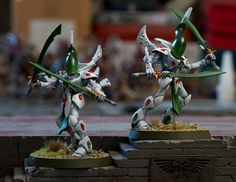 Biel Tan Eldar - Wraithblades by jontlaw, via Flickr