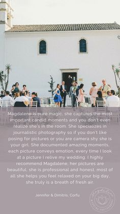 Kind words from a beloved couple that got married on Corfu, in Greece Our Wedding Day, Wedding Pics, Wedding Couples, Camera Shy, Greece Wedding, Poses For Pictures, Corfu, Destination Wedding Photographer, Got Married